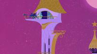Celestia and Luna on lookout S2E25