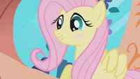 Fluttershy blushes S1E03