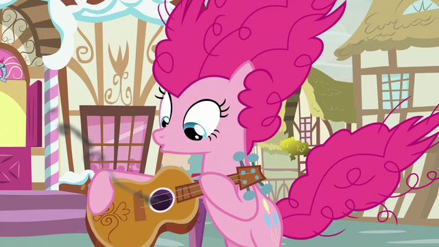 File:Pinkie Pie blows smoke off of guitar S7E9.png