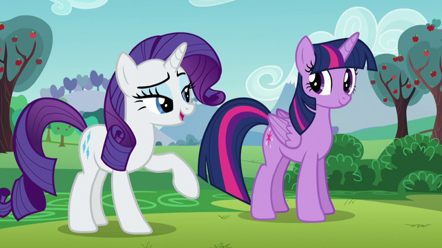 "File:Rarity putting emphasis on the word ""artistes"" S5E24.png"