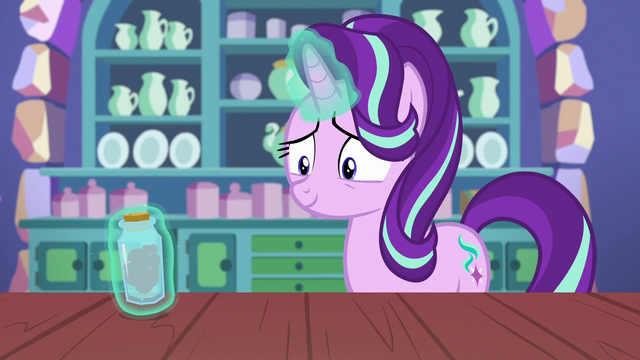 File:Starlight levitates a bottle of her anger S7E2.png