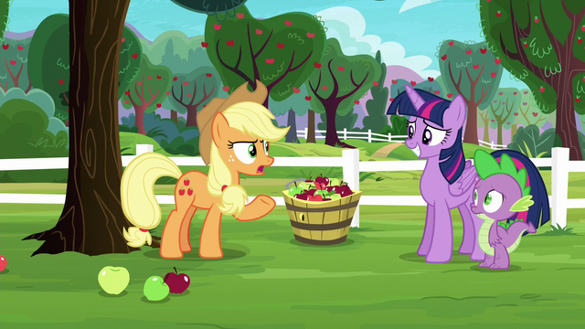 """File:Applejack """"wanted to get out of their element"""" S6E22.png"""