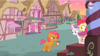 CMC looking out the door S3E4