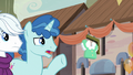 "Party Favor ""what are you doing here?"" S6E26.png"