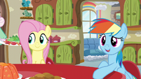 Rainbow Dash 'Things have been so busy with the Wonderbolts lately' S6E11