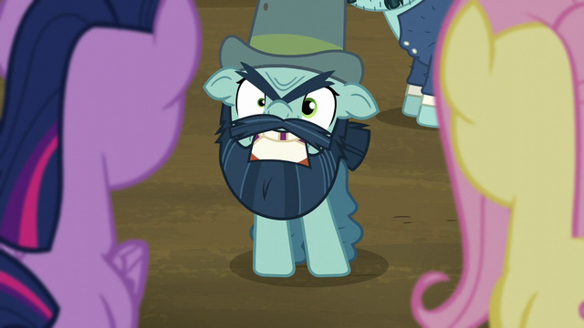 "File:Big Daddy McColt says ""Hooffields!"" derisively S5E23.png"