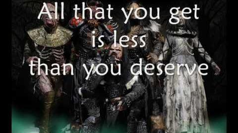 Lordi - Would you love a monsterman - Lyrics