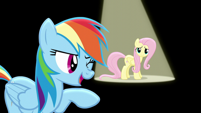 "File:Rainbow singing ""if you just give it your all"" S6E11.png"