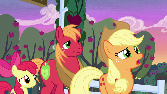 "File:Applejack ""learnin' about our parents"" S7E13.png"