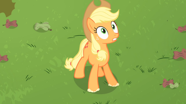 File:Applejack 'They're back!' S4E07.png