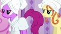 Berryshine and Earth mare waiting impatiently S6E10.png