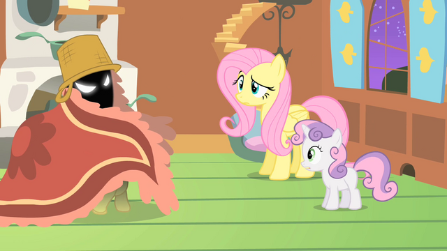 File:Fluttershy raised eyebrow S1E17.png
