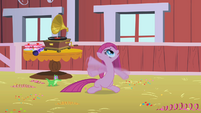 Pinkie Pie waving her hooves S1E25