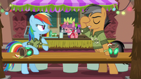 Quibble Pants dismissing Rainbow Dash S6E13