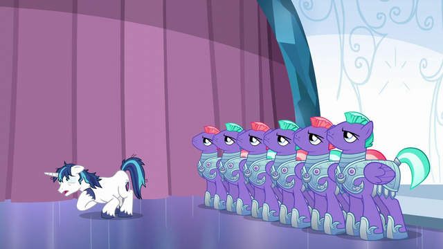 "File:Shining Armor ""I'm not ready!"" S6E1.png"