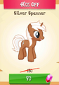 Silver Spanner MLP Gameloft.png