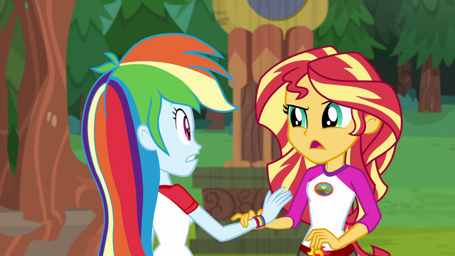 "File:Sunset Shimmer ""I know you're excited"" EG4.png"