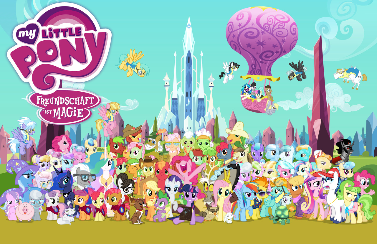 Image - German Season 3 Poster.jpg | My Little Pony ...