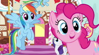 "Pinkie Pie ""who are you, stranger?"" S4E12"