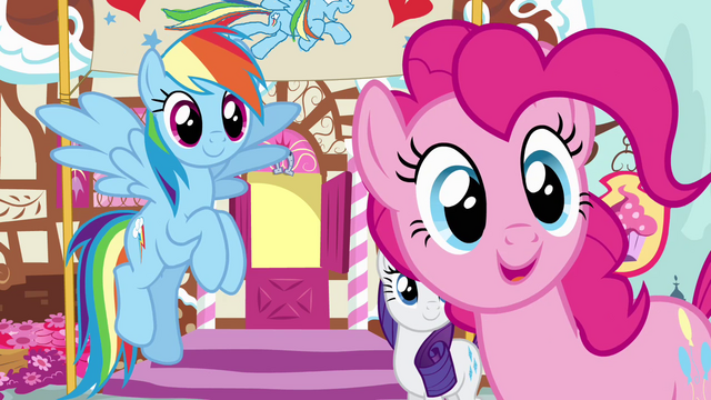 """File:Pinkie Pie """"who are you, stranger?"""" S4E12.png"""