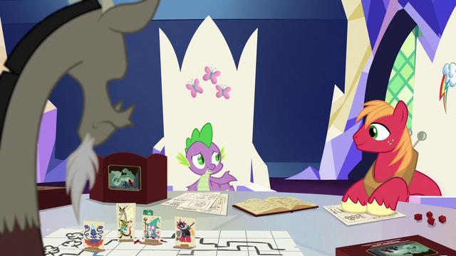 """File:Spike """"Big Mac and I were wondering"""" S6E17.png"""