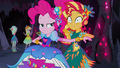Sunset very shocked by Pinkie Pie's thoughts EG4b.png