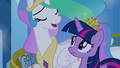 "Celestia singing ""with every new choice you make"" S4E25.png"