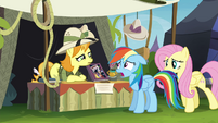 "Daring Do collector ""that's not worth anything to me"" S4E22"