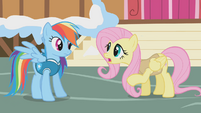 "Fluttershy ""you have to wake animals slowly"" S1E11"