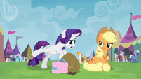 """Rarity """"how dare you let me get what I want!"""" S4E22"""