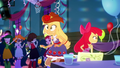 Applejack bumps into Apple Bloom SS3.png