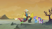 Discord tripping over a rock S6E25