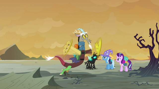 File:Discord tripping over a rock S6E25.png