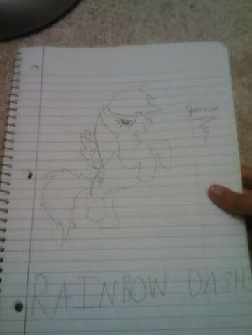 File:FANMADE James The Bunny's Rainbow Dash drawing.jpg