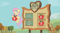 Fluttershy sees an incoming football S01E13