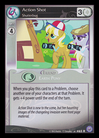 File:Action Shot, Shutterbug card MLP CCG.jpg