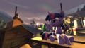 FANMADE - SFM Twilight Sparkle Sit at the Sunset.png
