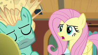 "Fluttershy ""then I'm sorry, Zephyr"" S6E11"