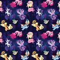 My Little Pony The Movie seaponies woven cotton fabric by Etsy.jpg