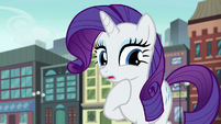 Rarity thinks about it S6E3