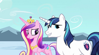 Shining Armor 'It's just a test' S3E2