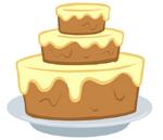 Canterlot Castle cake2