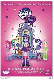 Equestria Girls second movie poster