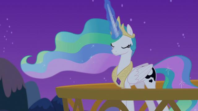 File:Princess Celestia using Luna's dream magic S7E10.png