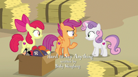 "Scootaloo ""there's no way he'll tell us"" S7E8"