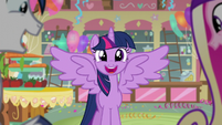 Twilight smiles with elation S5E19
