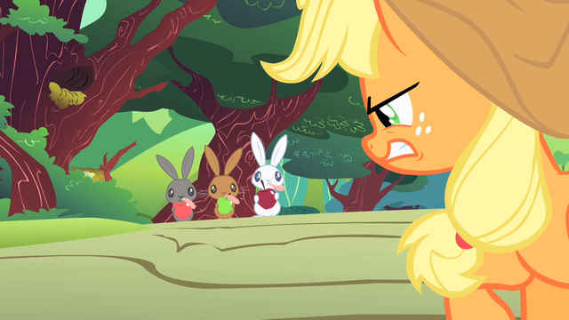 File:Applejack angry at varmints S1E23.png