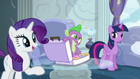 "Rarity ""we must know every detail!"" S6E7"