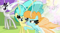 Breezie nudging Twirly S4E16