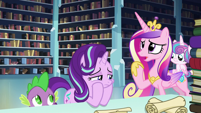 "File:Cadance ""I don't recognize the name"" S6E2.png"